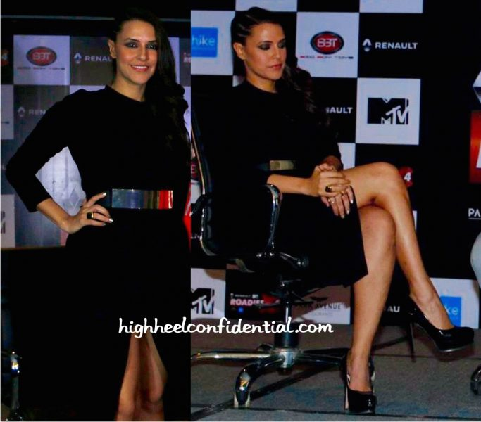 Neha Dhupia In Zara At An Event For Roadies-2