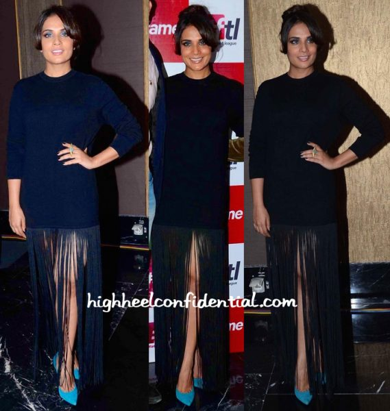 Richa Chadda In H&M At Fame Event-1