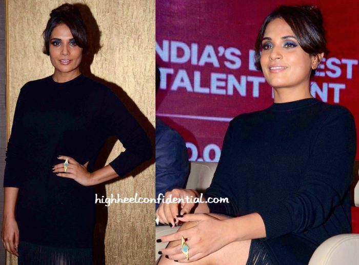 Richa Chadda In H&M At Fame Event-2