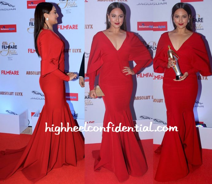 Sonakshi Sinha At Filmfare Glamour & Style Awards 2015-monisha jaising-2