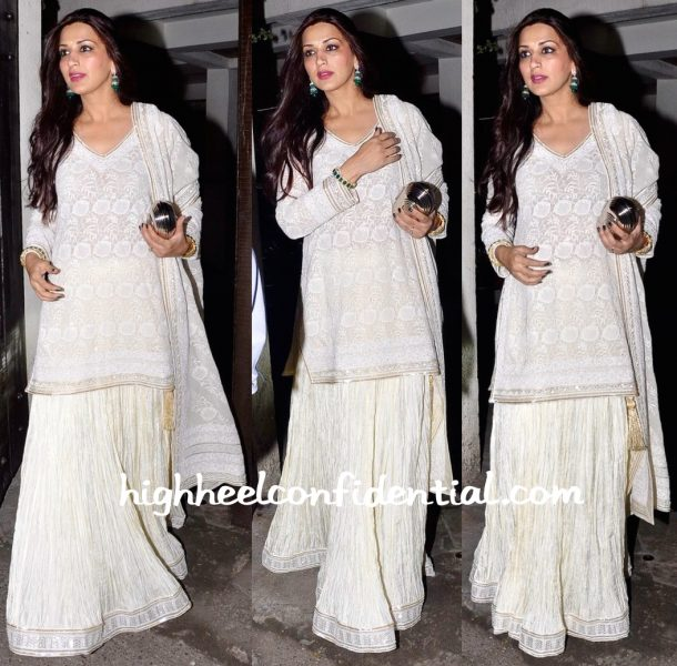 Sonali Bendre At Anil Kapoor's Diwali Party