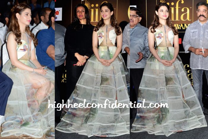 Tamannaah Bhatia In Gauri And Nainika At IIFA South 2015 Curtain-Raiser-2