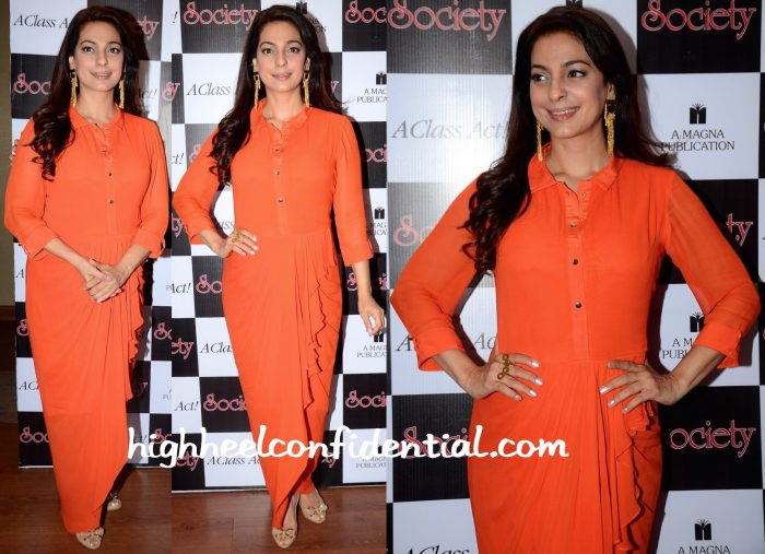 juhi chawla society magazine launch soup by sougat paul