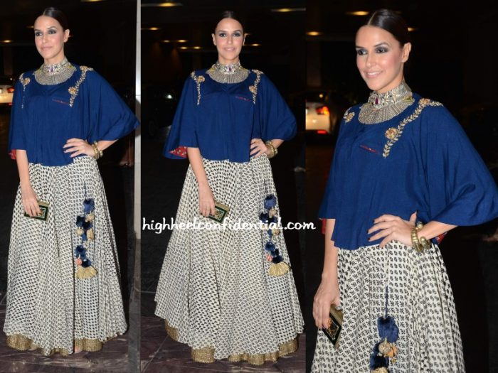 neha-dhupia-natasha-j-masaba-madhu-wedding-reception