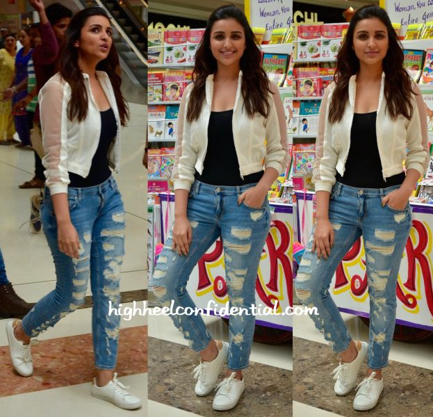 parineeti chopra in rhea pillai rastogi zara and hm at a mumbai event