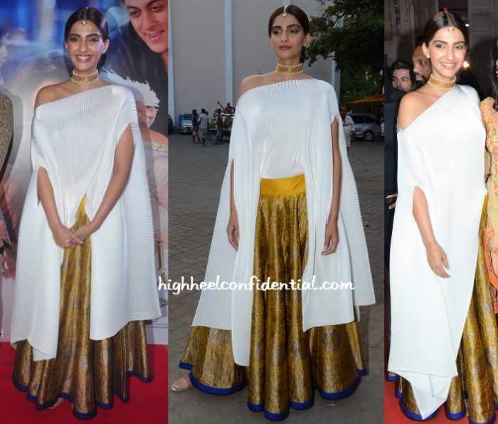 sonam-kapoor-payal-khandwala-prem-ratan-press-meet