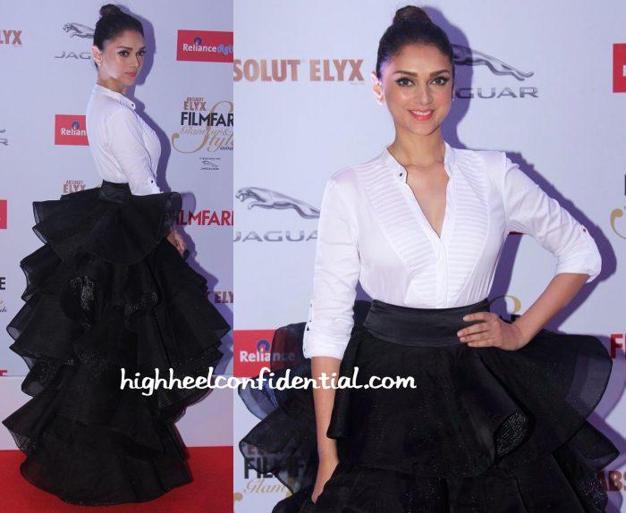 Aditi Rao Hydari At Filmfare Glamour & Style Awards 2015-abu jani sandeep khosla-2
