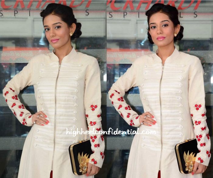Amrita Rao Photographed At Wockhardt Hospital-1