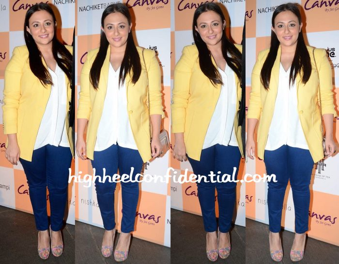 Avantika Malik In 3.1 Philip Lim At Canvas By Jet Gems Launch