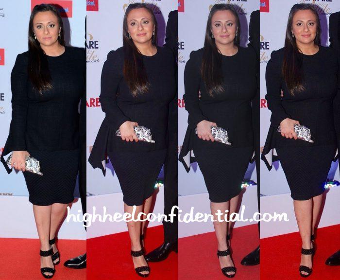 Avantika Malik In Stella McCartney At Filmfare Glamour & Style Awards 2015