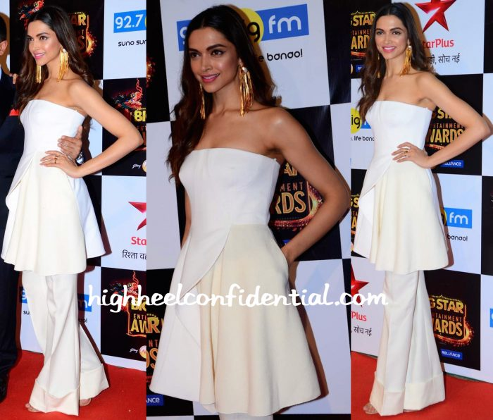 Deepika Padukone In Stella McCartney At Big Star Entertainment Awards 2015-1