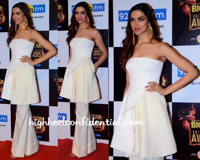 Deepika Padukone In Stella McCartney At Big Star Entertainment Awards 2015-2