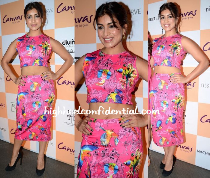 Pallavi Sharda In Nishka Lulla At Canvas By Jet Gems Launch