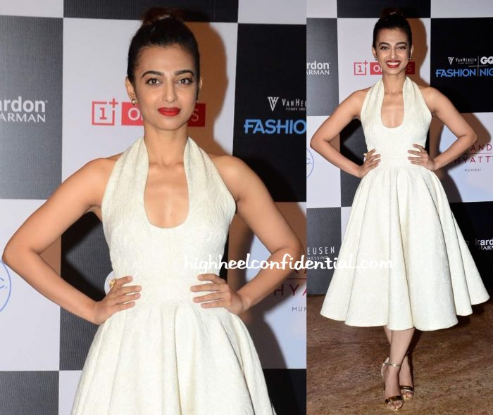 Radhika Apte In Swapnil Shinde At GQ Fashion Nights 2015-1