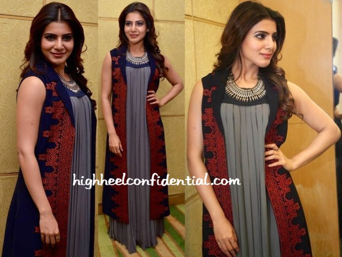 Samantha Ruth Prabhu In Shivangi Sahni And Amrapali At 'Nava Manmadhudu' Press Meet-2