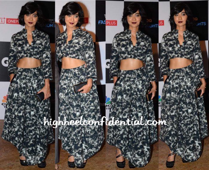 Sayani Gupta In Antar-Agni At GQ Fashion Nights 2015-1