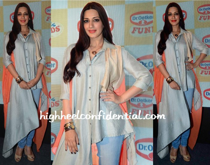 Sonali Bendre At Fun Food Launch-2
