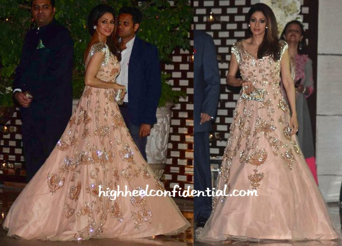 Sridevi Wears Manish Malhotra To Ambani Bash-1