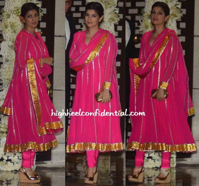 Twinkle Khanna Wears Abu Jani Sandeep Khosla To Ambani Bash-1