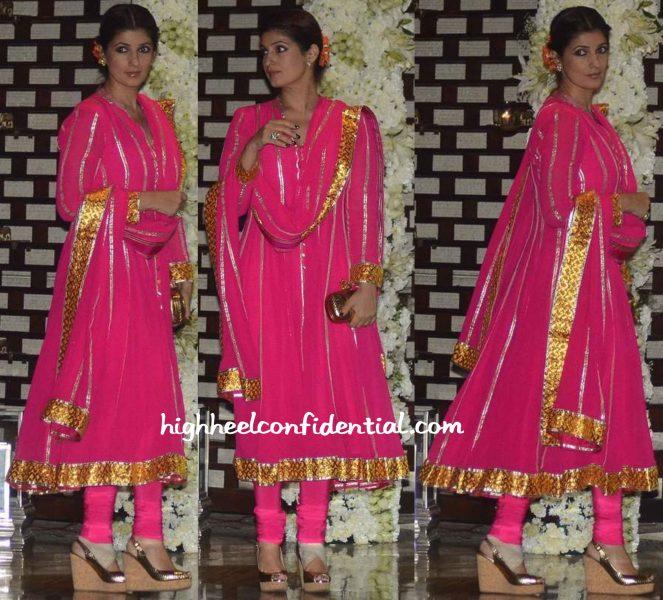 Twinkle Khanna Wears Abu Jani Sandeep Khosla To Ambani Bash-2
