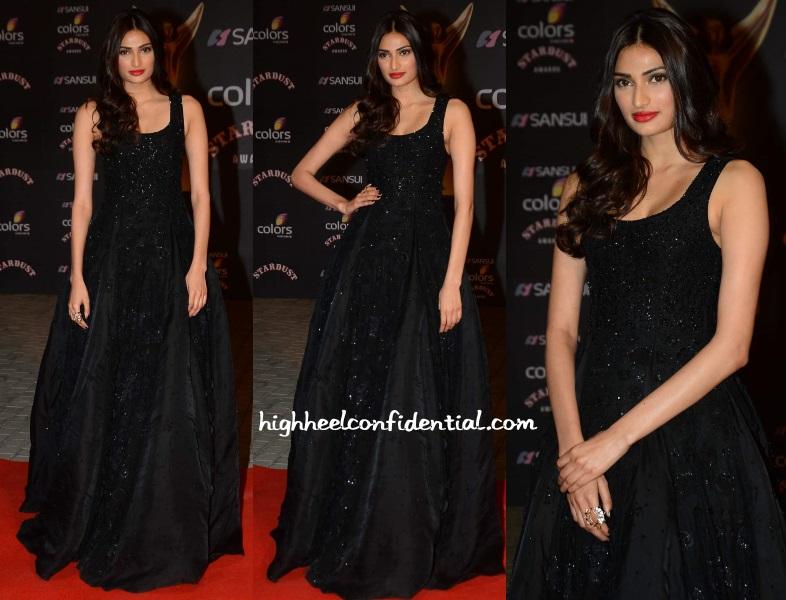 athiya-shetty-shriya-som-stardust-awards-2015