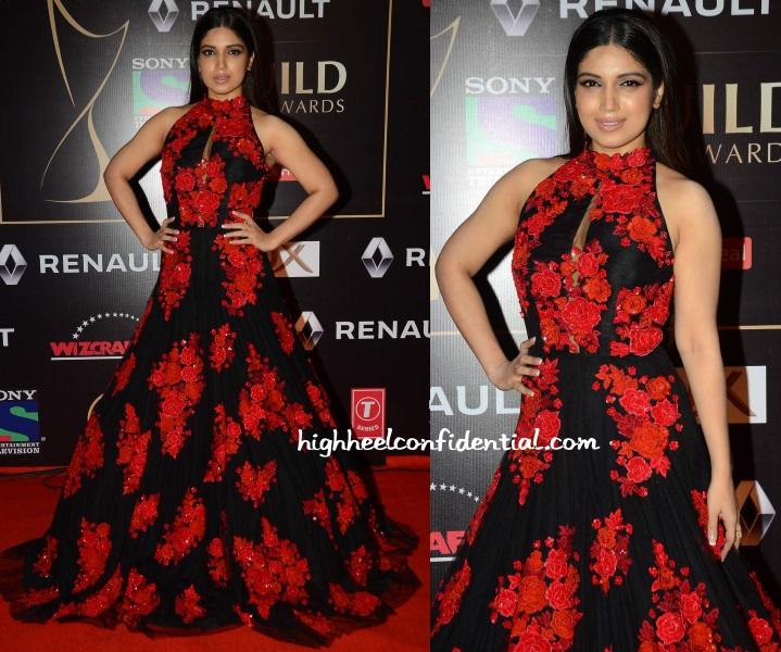bhumi-pednekar-manish-malhotra-guild-awards-2015