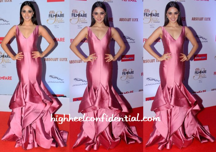 filmfare glamour and style awards 2015-kiara advani-gauri and nainika-1