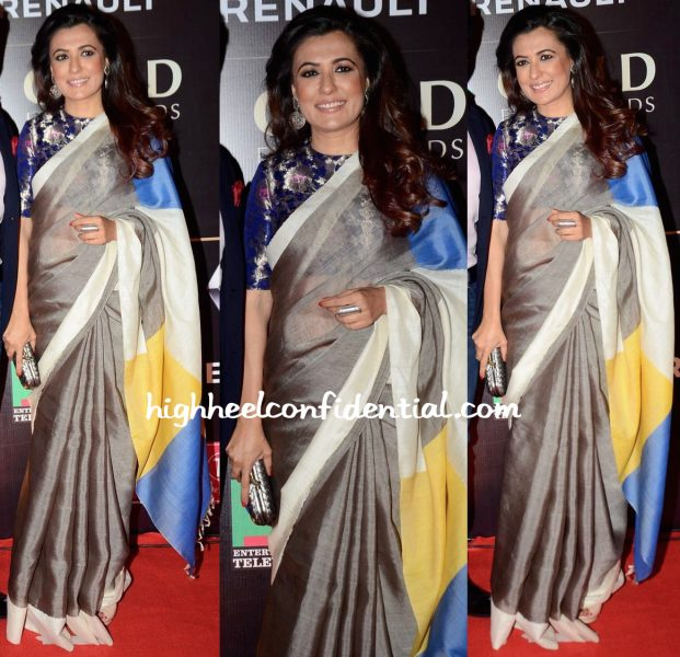 mini mathur in raw mango at star guild awards 2015