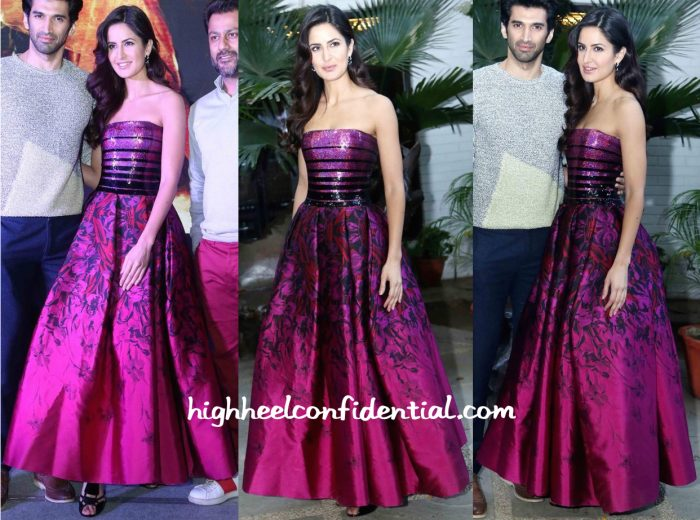 Katrina Kaif In Georges Chakra At Fitoor Song Launch In Delhi-2