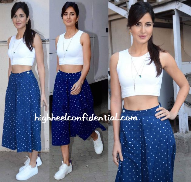 Katrina Kaif Wears Bodice To Fitoor Promotions-1