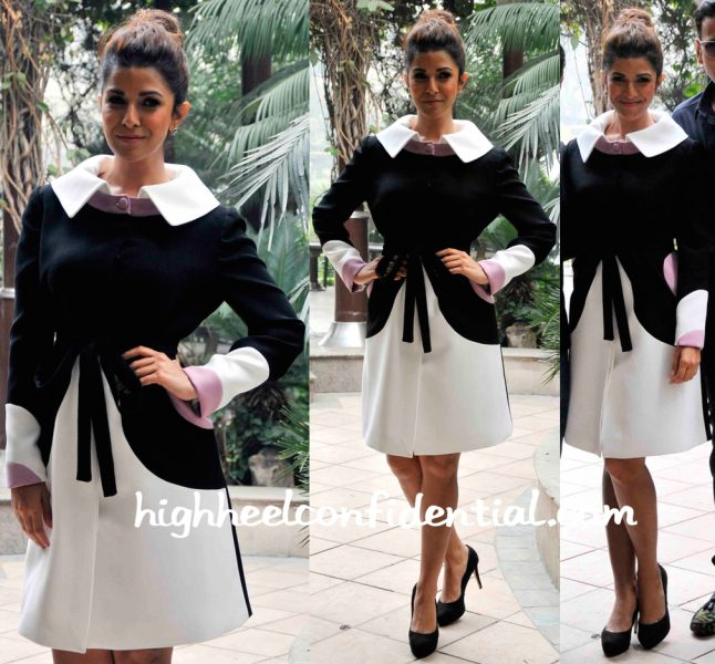 Nimrat Kaur Wears Georges Hobeika To Airlift Promotions-1