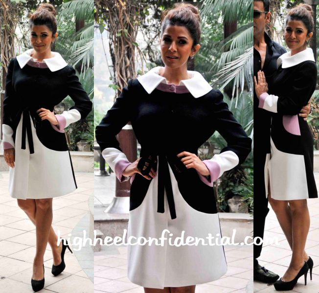 Nimrat Kaur Wears Georges Hobeika To Airlift Promotions-2