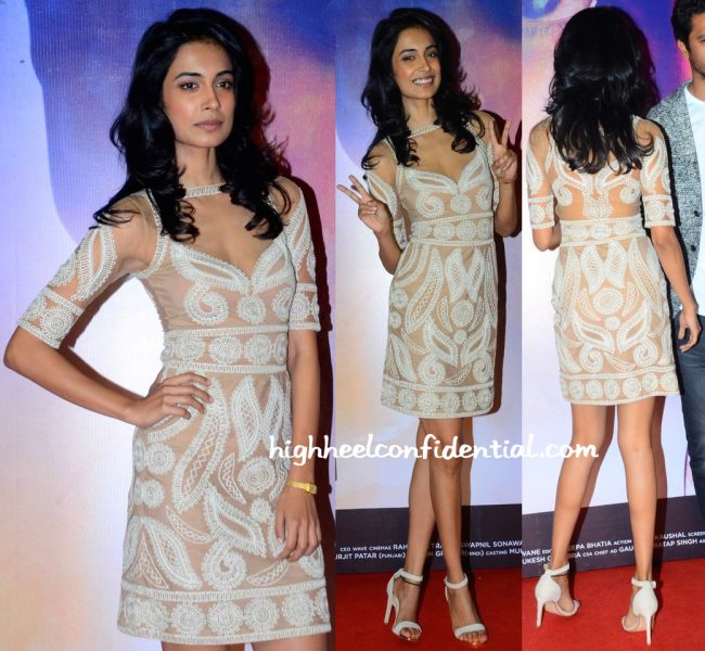 Sarah Jane Dias In Malini Ramani At Zubaan Trailer Launch-1