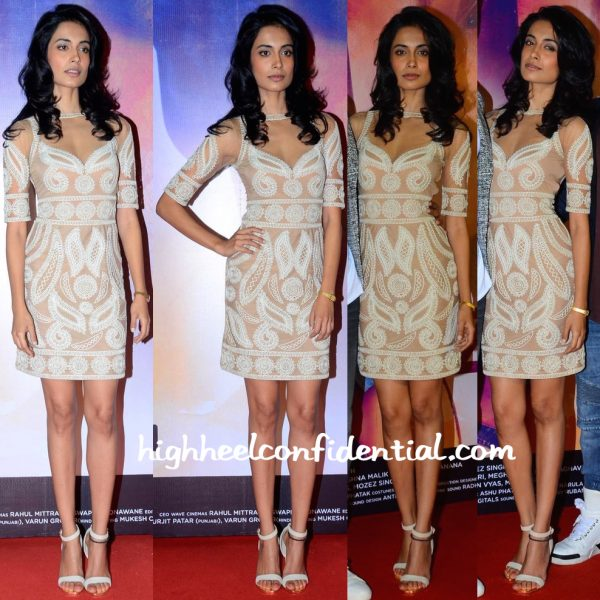 Sarah Jane Dias In Malini Ramani At Zubaan Trailer Launch-2