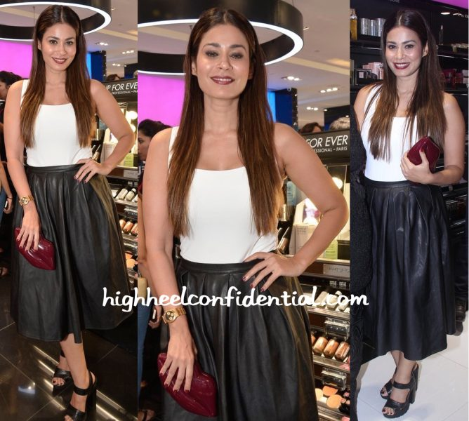 Shaheen Abbas In Zara And Misguided At Sephora Launch