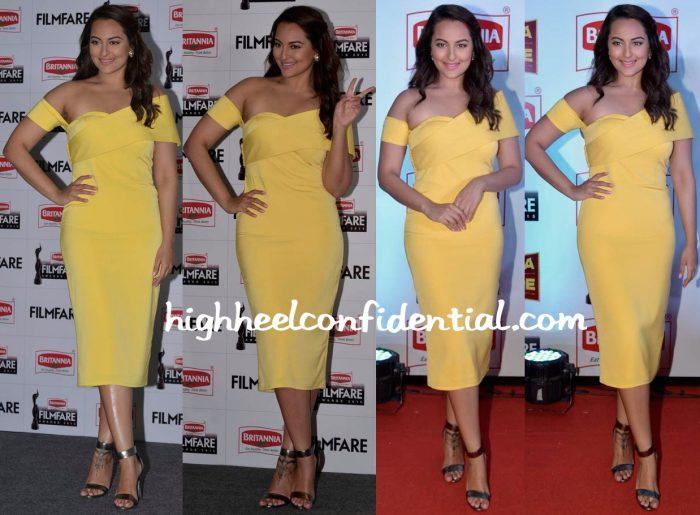 Sonakshi Sinha In Rutu Neeva At Filmfare Awards Press Conference-1