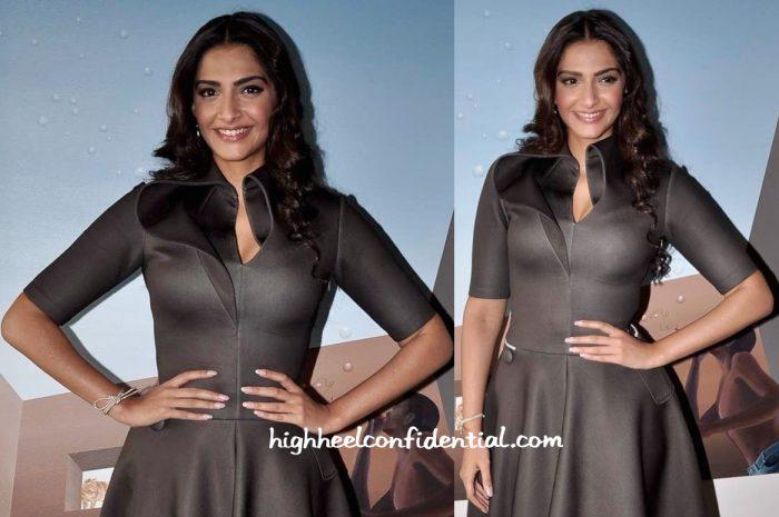 Sonam Kapoor Wears A Dolly J Dress To Neerja Promotions-2