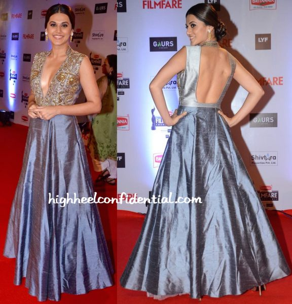 Taapsee Pannu In Harshita Deshpande At Filmfare Awards 2016-2