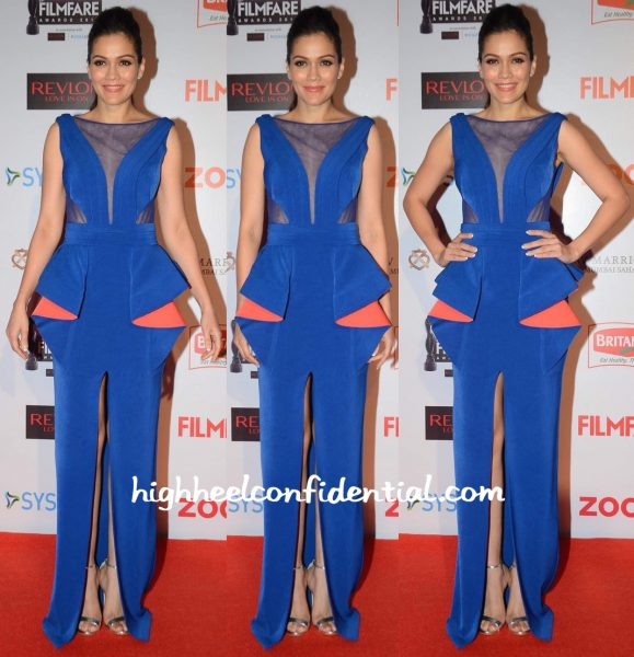 Waluscha De Sousa In Jatin Varma At Filmfare Pre-Awards Party 2016