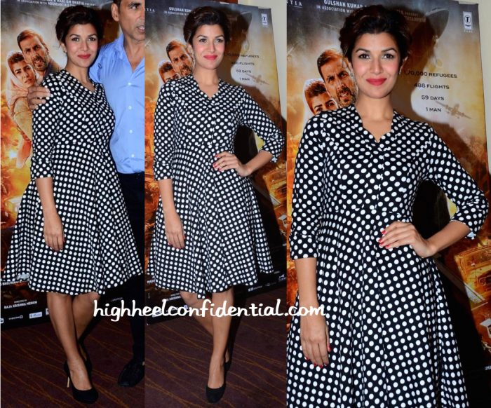 nimrat kaur airlift promotions madison dress