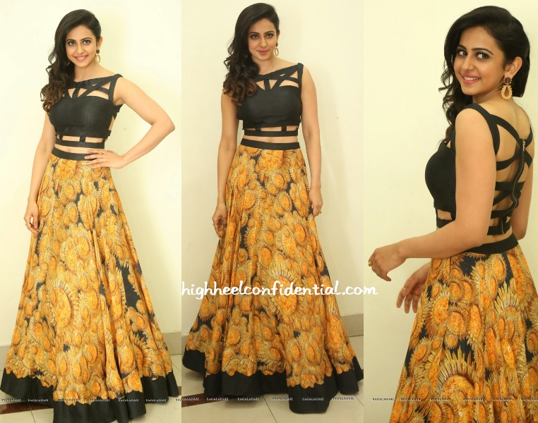 rakul-preet-reeti-arneja-speedunnodu-audio-launch