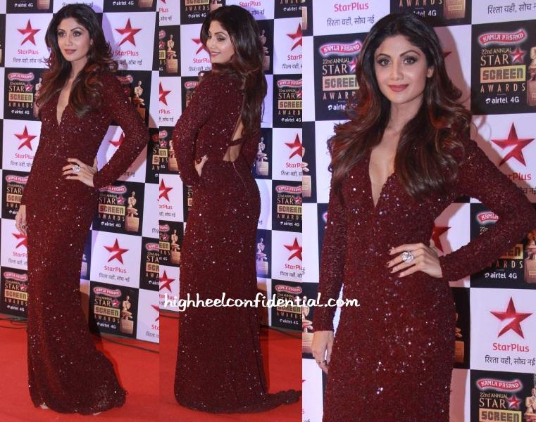 shilpa-shetty-monisha-jaising-star-screen-awards-2016
