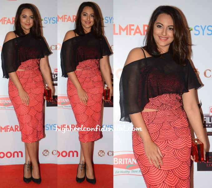 sonakshi-sinha-zara-umrigar-filmfare-pre-awards-party-2016