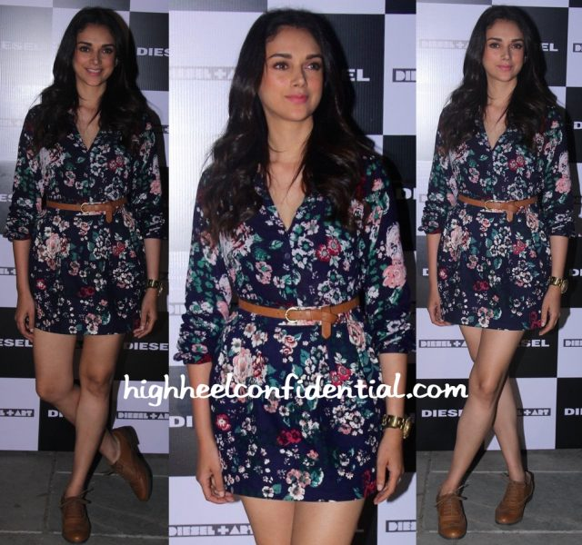 Aditi Rao Hydari At Rohan Shrestha's Hanami Photo Exhibition