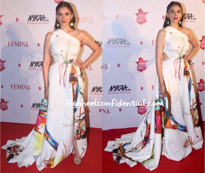 Aditi Rao Hydari In Gauri And Nainika At Femina Beauty Awards 2016-1