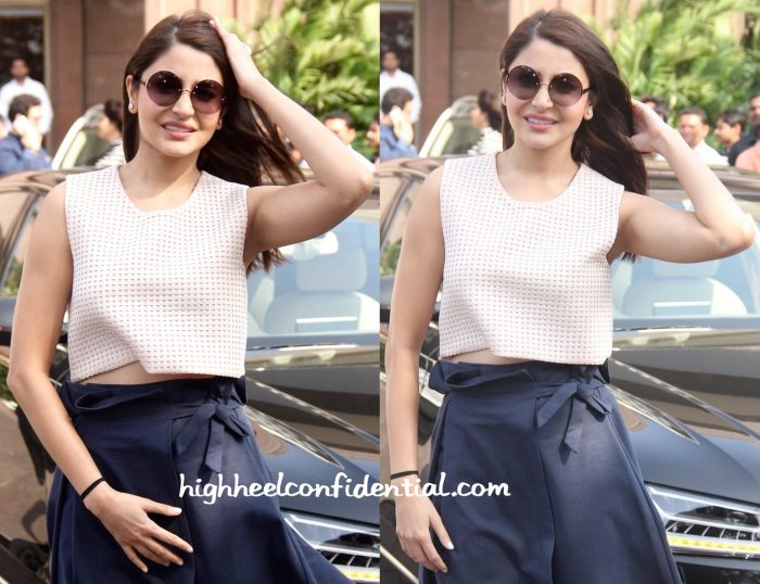 Anushka Sharma In Marks And Spencer At Arpita Khan's Baby Shower-2