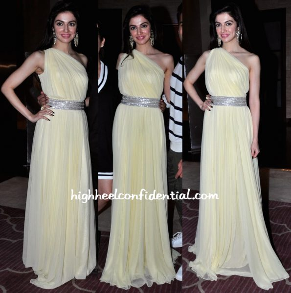 Divya Khosla Kumar Wears Vineti Bolaki To 'Sanam Re' Success Bash-1