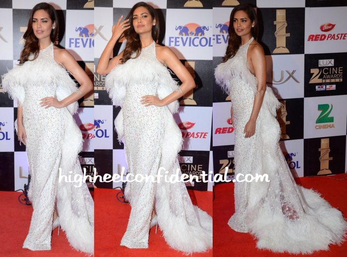 Esha Gupta In Rami Kadi At Zee Cine Awards 2016-2