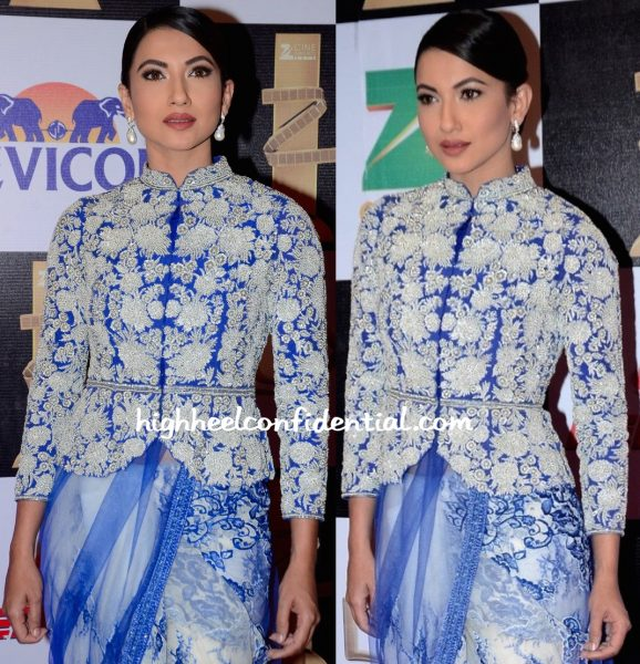Gauahar Khan In Rabani & Rakha At Zee Cine Awards 2016-2