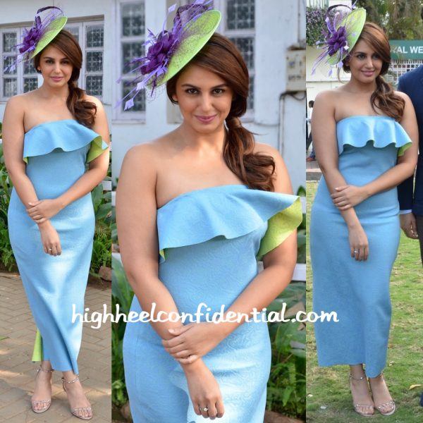 Huma Qureshi In Tanieya Khanuja At Mid Day Race-1